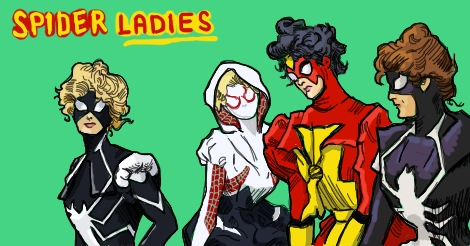 Spider Ladies