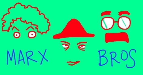 Marx Brothers by Amanda Wood