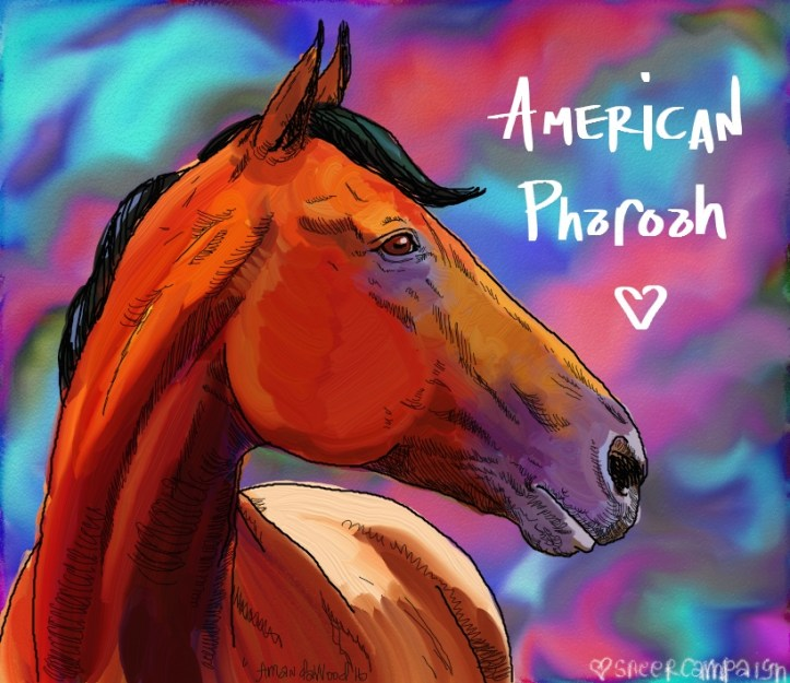 American Pharoah by Amanda Wood