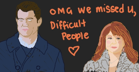 Difficult People Season 2 by Amanda Wood