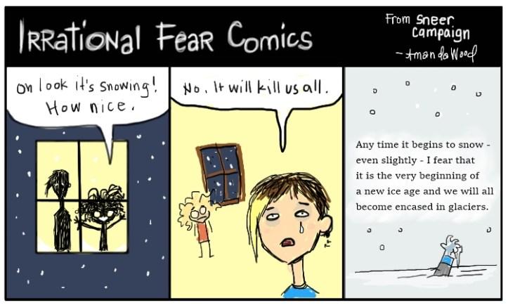 snow fear