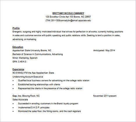 Resume For Job Word Format | Best Collection Rooms Chairs