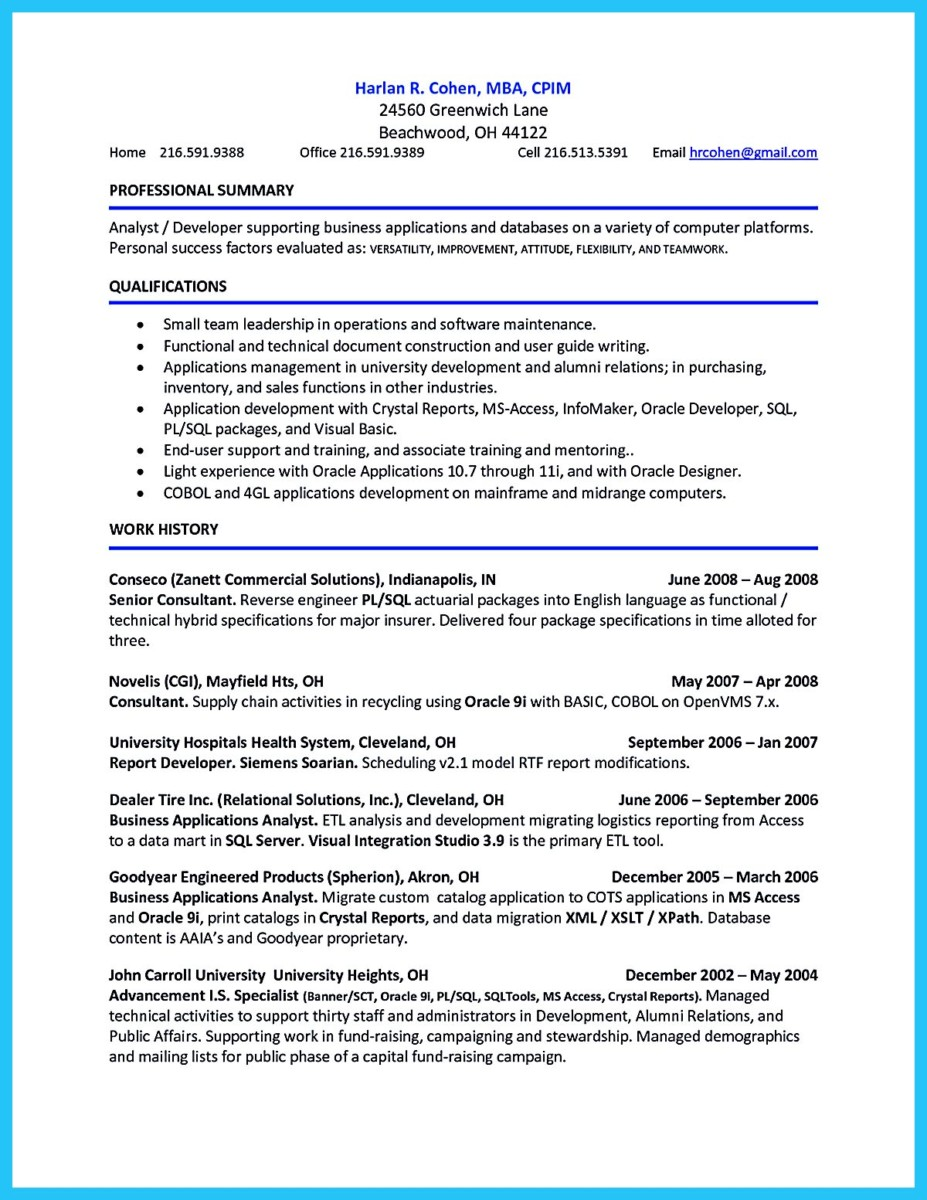 account payable resume examples