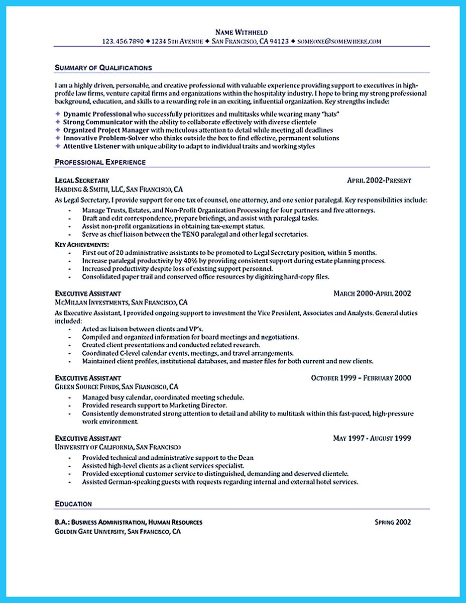Sample Cover Letter Administrative Assistant Job Resume For An Administrative Assistant Bookhotels Tk