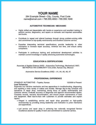 Convincing Design And Layout For Aircraft Mechanic Resume
