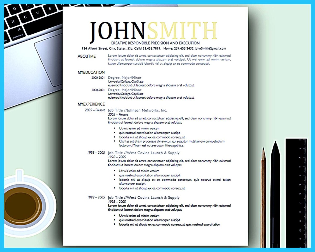 Artistic Resume Creative Artistic Resume For Artistic Job Company