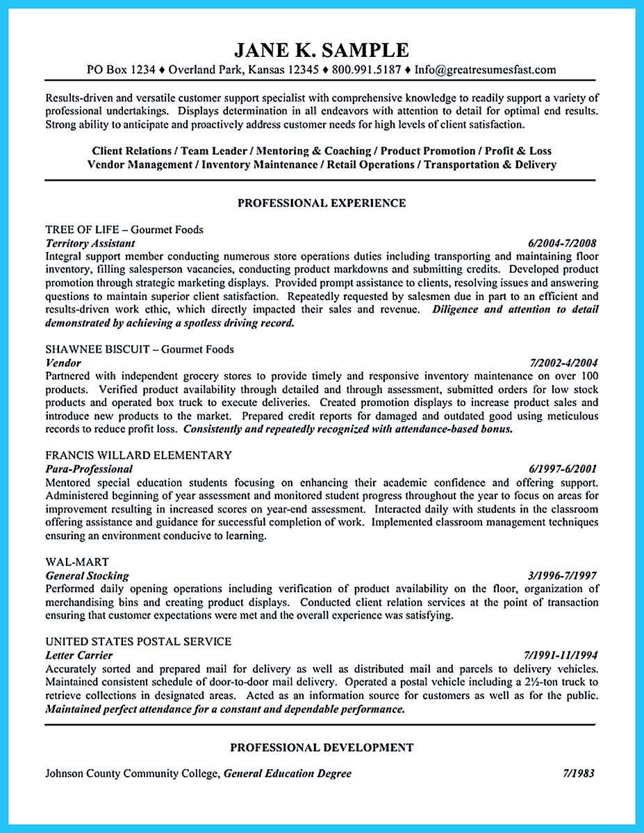 resume for education assistant