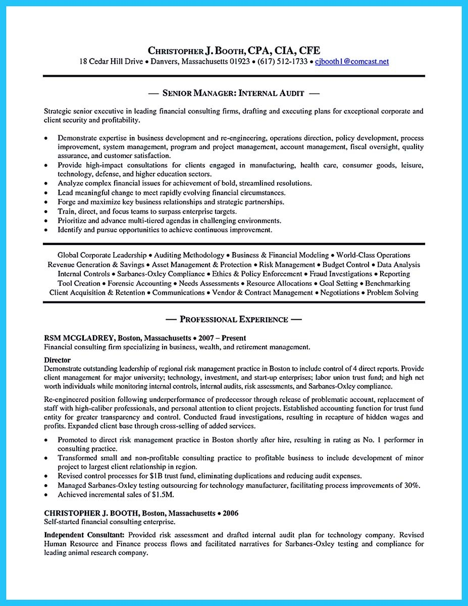 Revenue Auditor Cover Letter Understanding A Generally Accepted Auditor Resume