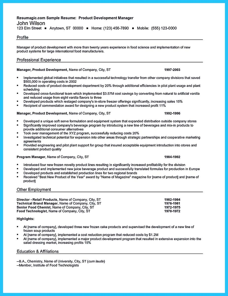 Marvelous Things to Write Best Business Development Manager Resume