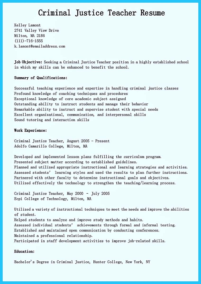 skills in a resume