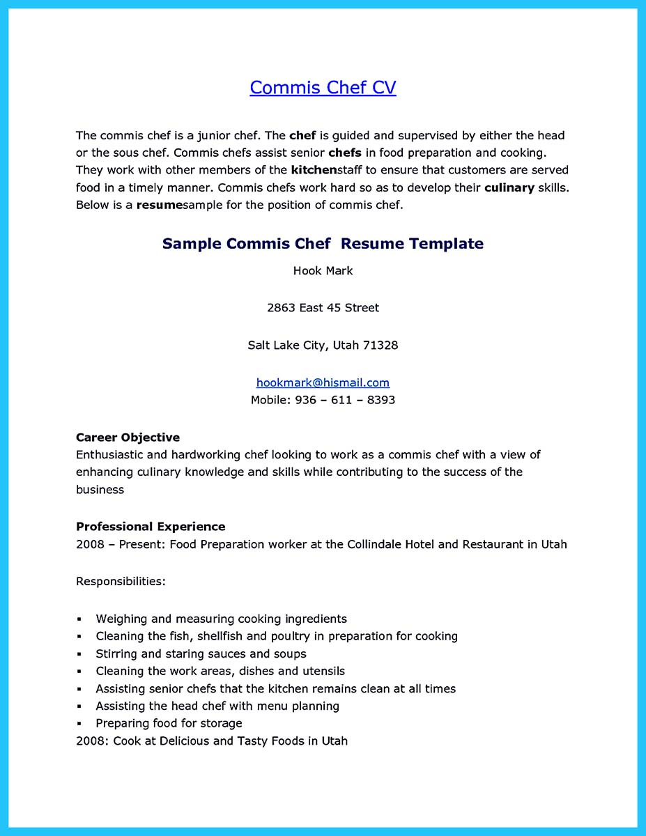 cover letter by email