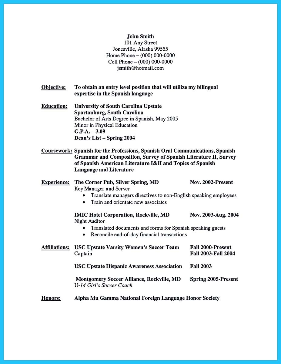 Resume Resume Sample Bilingual Skills Bilingual Resume Examples Skills On  Sample Bilingual  Bilingual In Resume