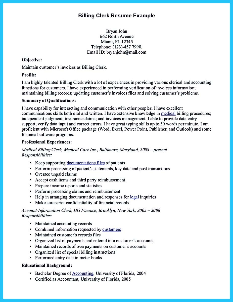 data entry specialist resume