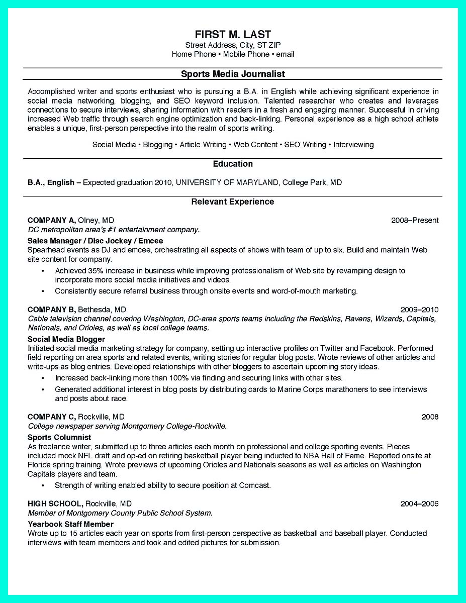 how to make a resume for graduate school