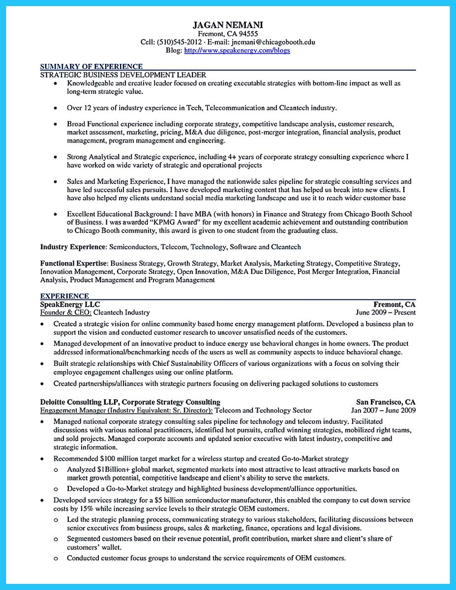 Best Words For The Best Business Development Resume And Best Job . Business  Development Resume Example