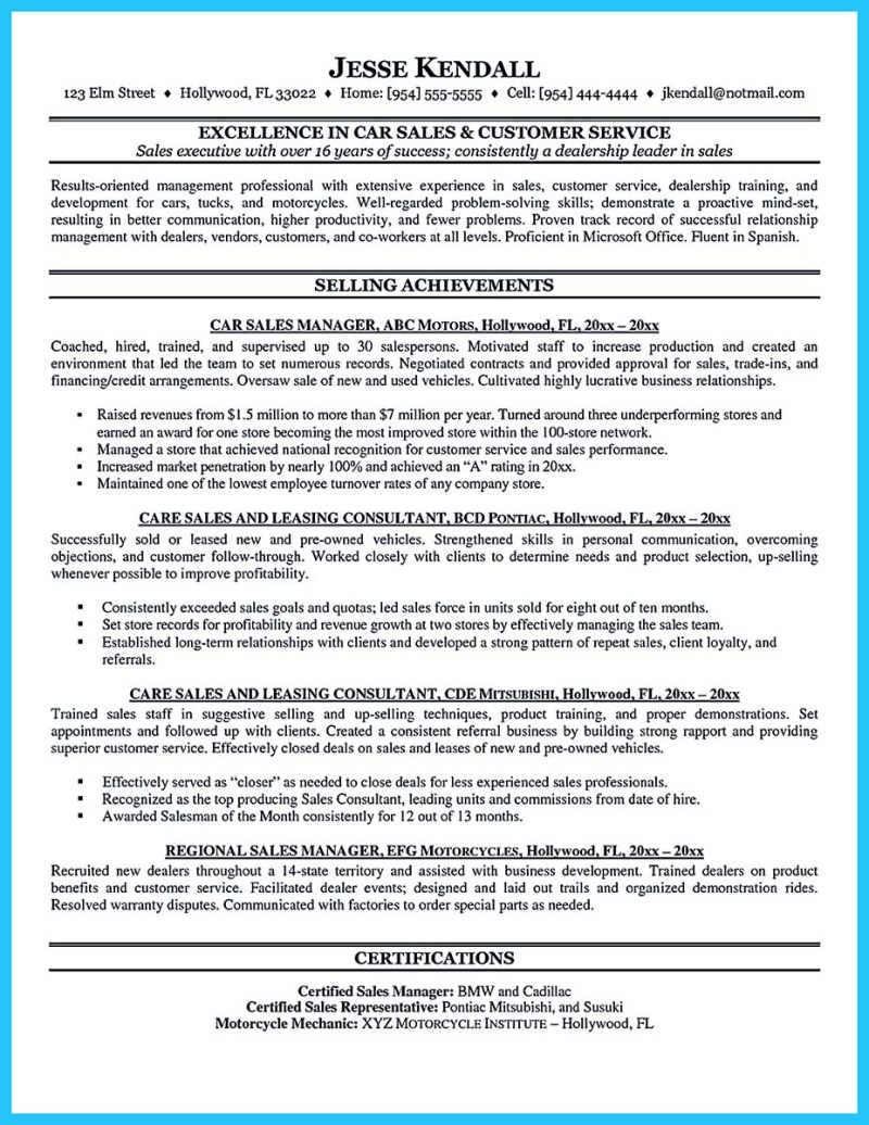 Sample Cover Letter For Car Dealership | Poemsrom.co