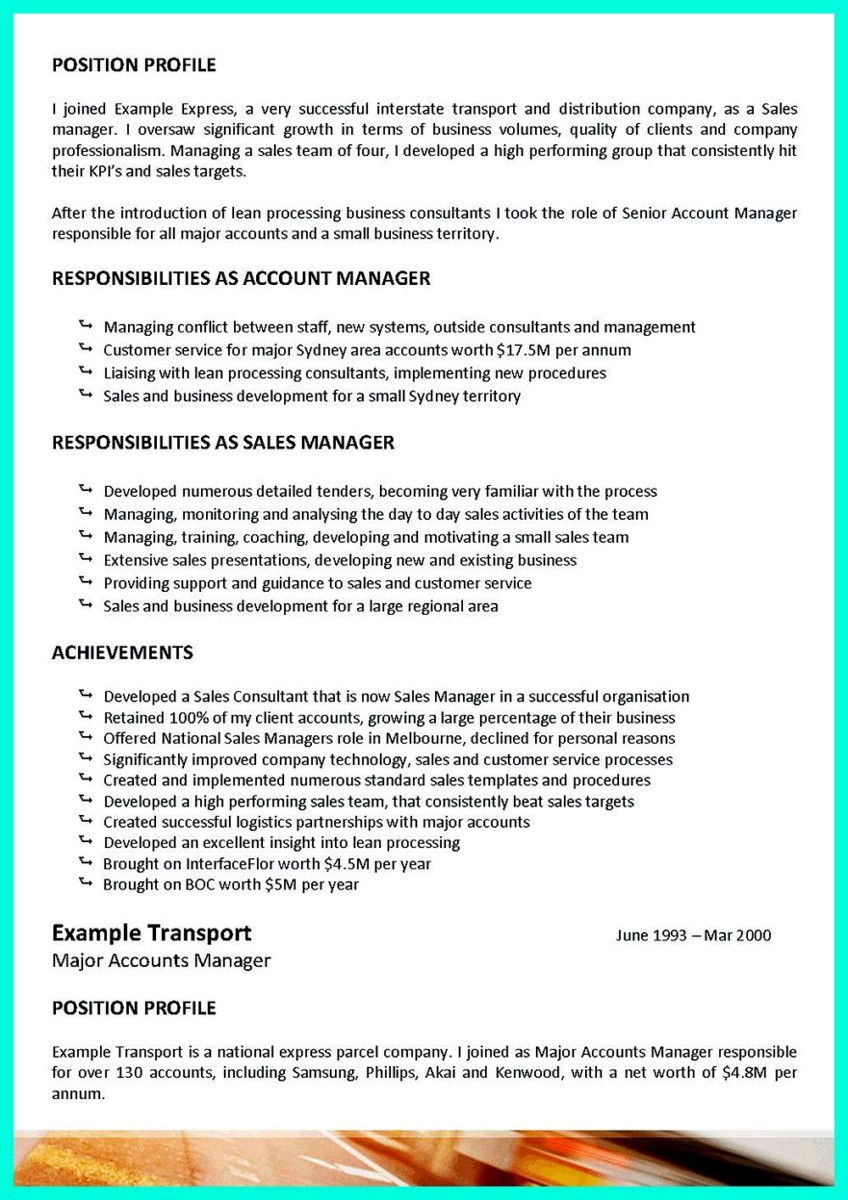 truck driver resume job objective
