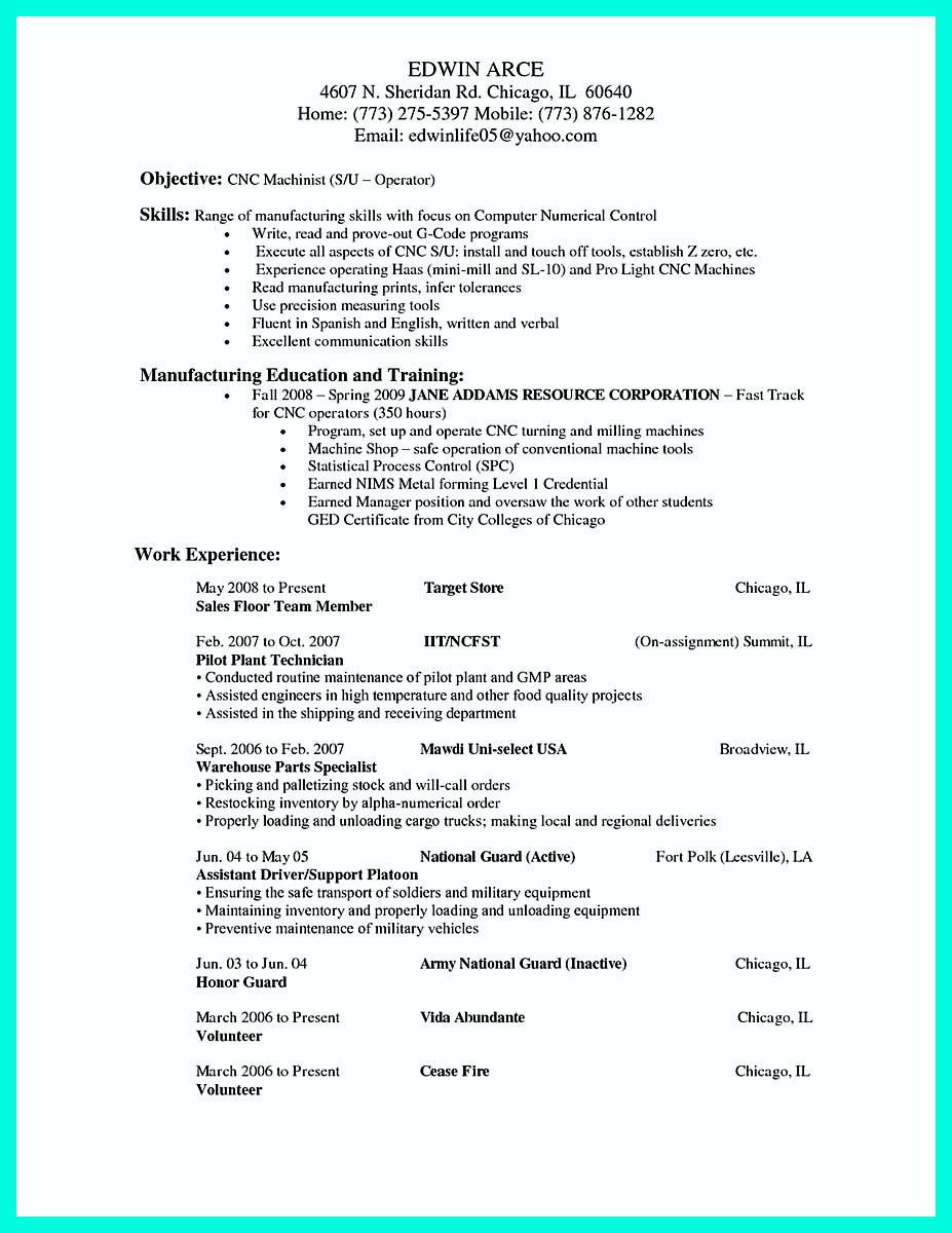 Cover Letter Personal Resume Examples
