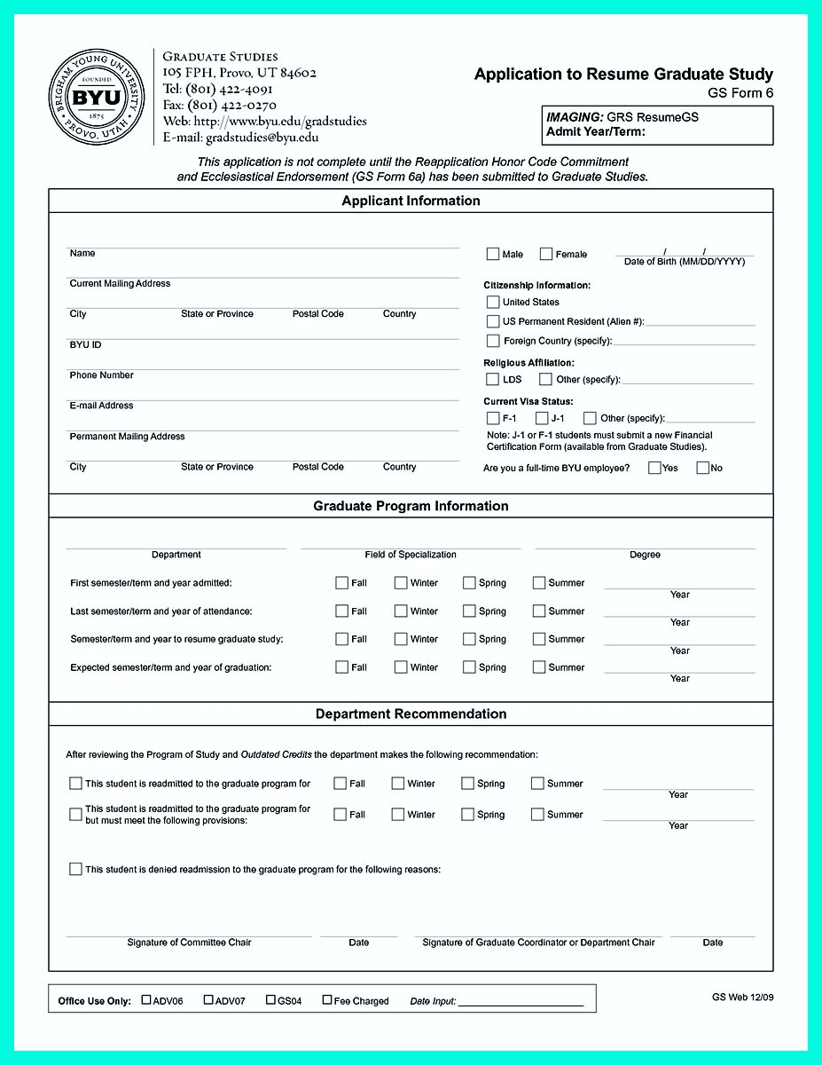 free resume for college application template