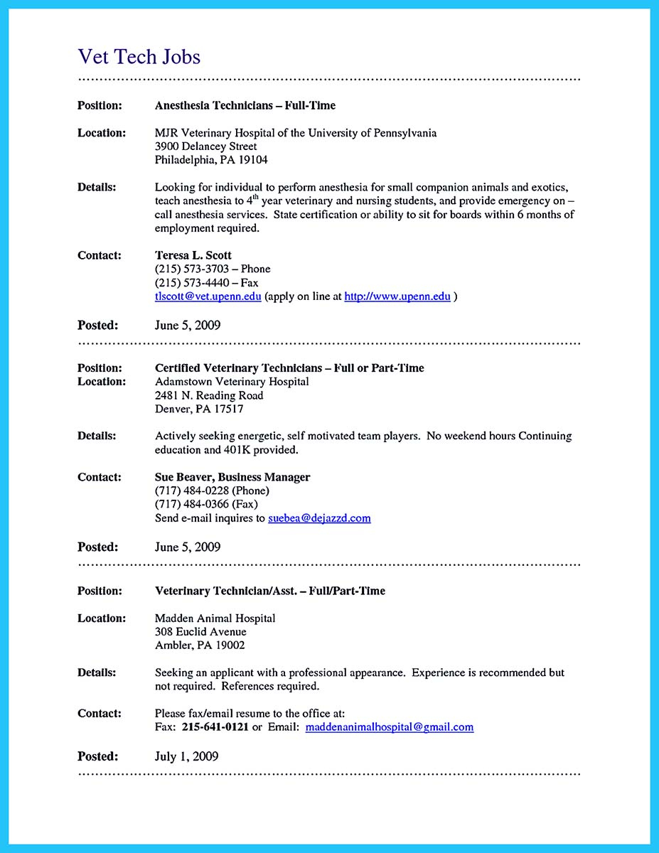 Crna Resume Examples