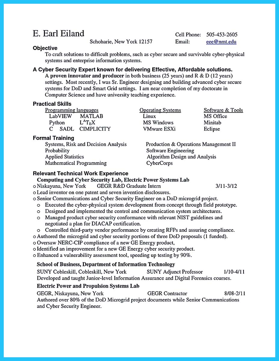 Resume To Get Hired  Resume Ideas