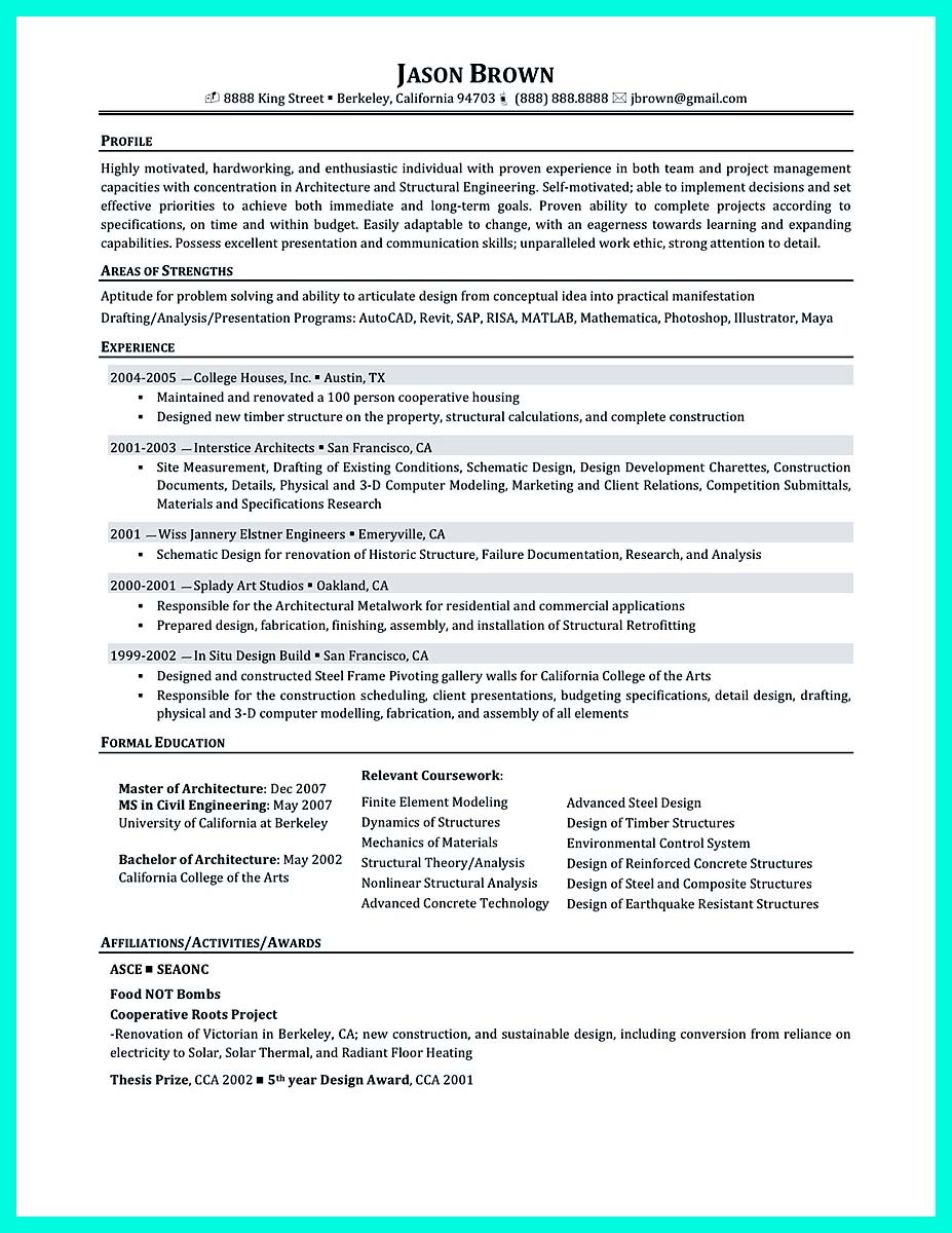 96 Entry Level Construction Management Resume
