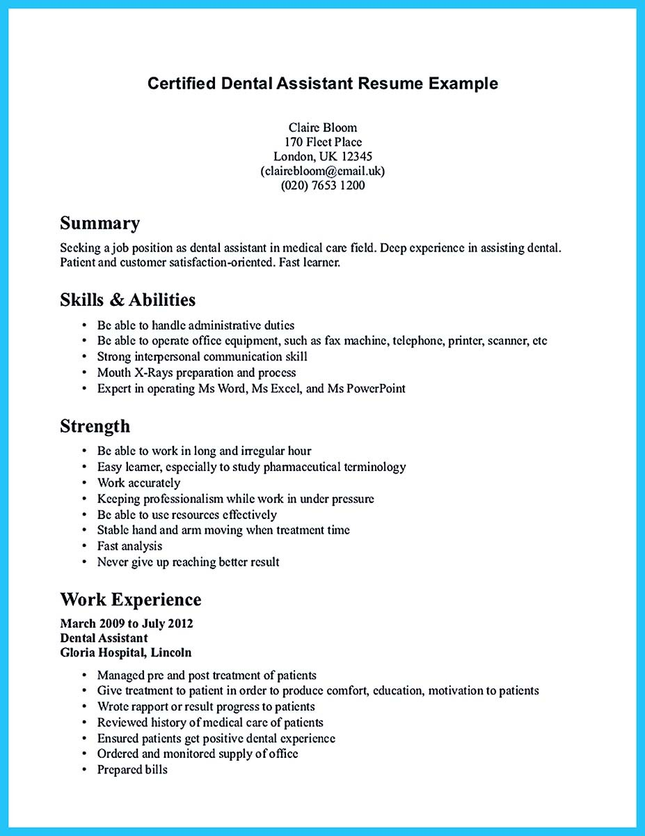 objective for resume for helper position