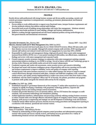 Making a Concise Credential Audit Resume  How to Write a Resume in Simple Steps