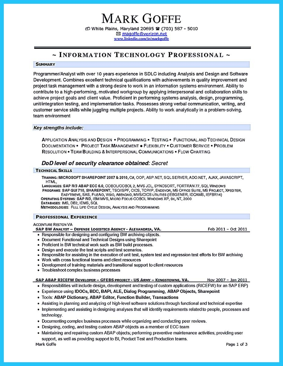 Business Analyst Resume Doc India Professional Resume Cover