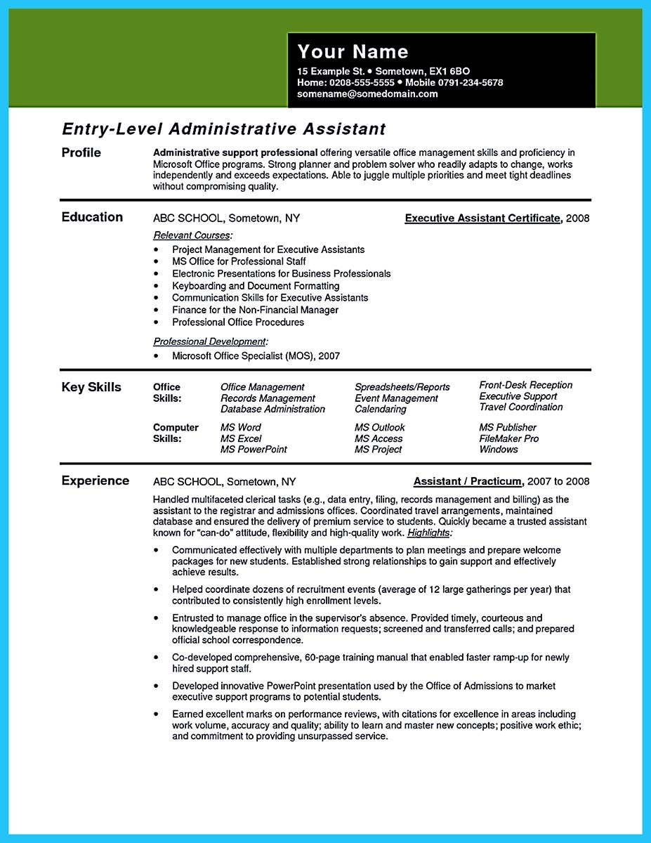 Wardrobe Assistant Cover Letter Writing Your Assistant Resume Carefully
