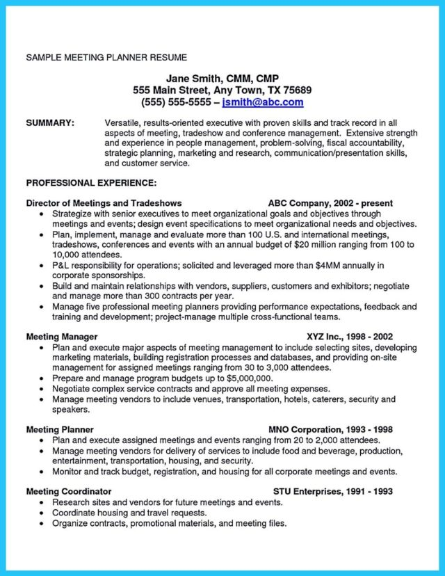 Cfo Resume Example Free Templates Collection Successful  Cfo Resume Examples
