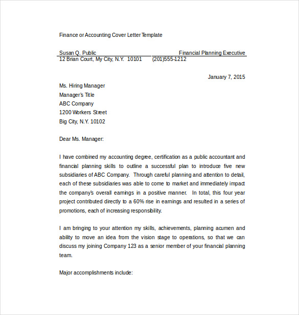 Short Cover Letter Sample Why Keeping Yours Brief Is the Best