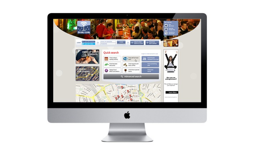 drinknlink.com - Sociaal platform