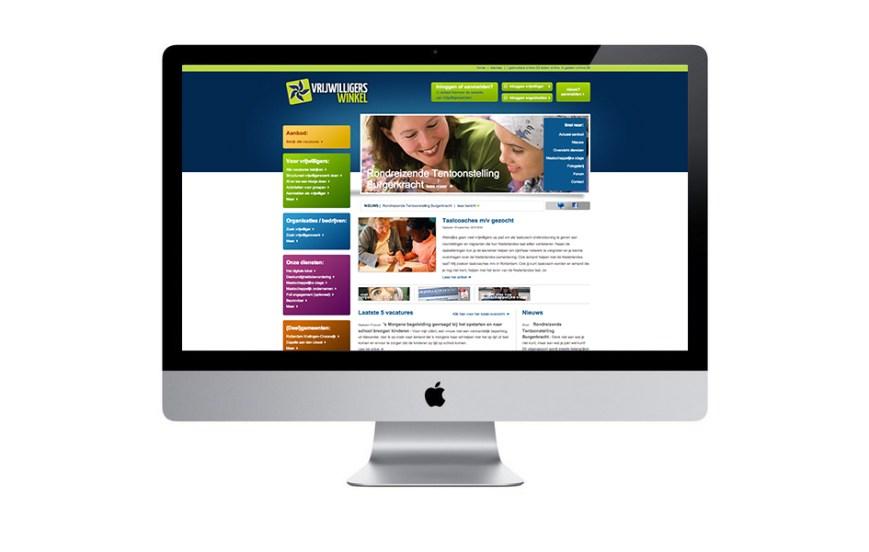 vrijwilligerswinkel.nl - Verbindt vrijwilligers en organisaties