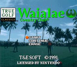True Golf Classics - Waialae Country Club 01