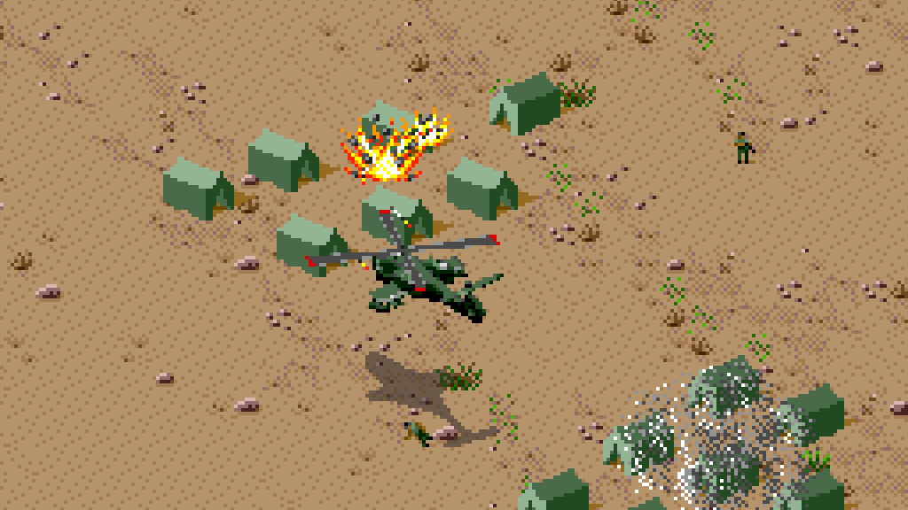 Desert Strike - Return to the Gulf FI
