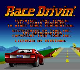 Race Drivin' 01