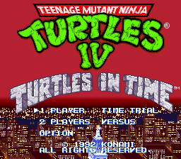 Teenage Mutant Ninja Turtles IV - Turtles in Time 01