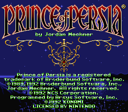 Prince of Persia 01