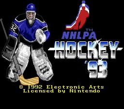 NHLPA Hockey 93 01