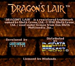 Dragons Lair 01