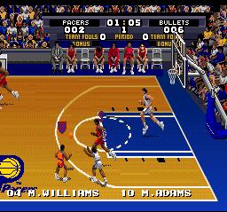 Tecmo Super NBA Basketball 08