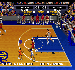 Tecmo Super NBA Basketball 08