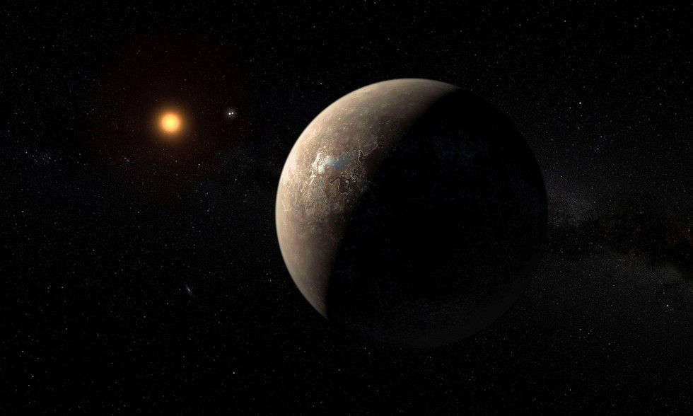Extinction-Level Superflares May Blast Earth's Nearest Exoplanet Proxima b
