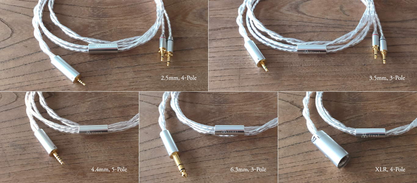 hight resolution of headphone cable