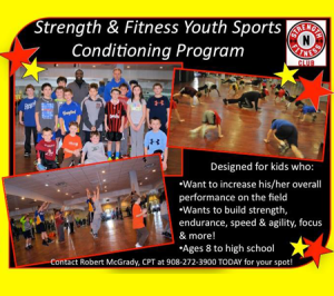 New Program: Youth Sports Conditioning