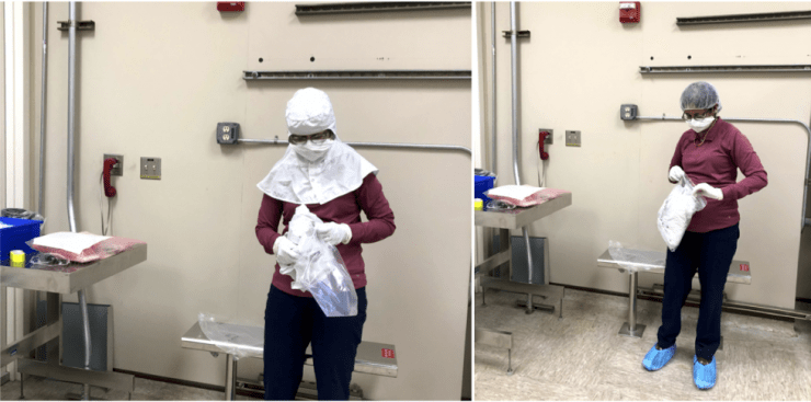 New Normal Cleanroom Gowning | Stanford Nanofabrication Facility