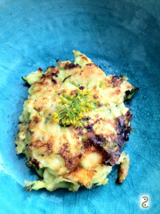 Aneth and zucchini croquettes http://wp.me/p3iY4S-le