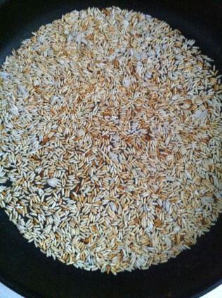 roasted powder rice