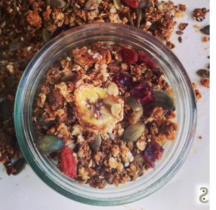 Home-made granola http://wp.me/p3iY4S-yz